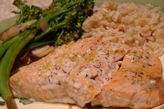 Honey Lemon Roasted Salmon  (Gluten Free, Dairy Free)