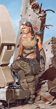 — MechGirl C by *StMan on deviantART