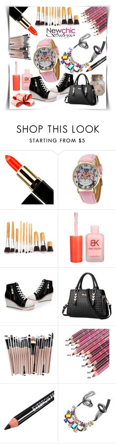 """NewChic 004"" by silvijo ❤ liked on Polyvore featuring beauty, chic, New and newchic"