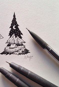 sam larson art - future tattoo idea                                                                                                                                                                                 More