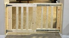 16 Premium Dog Gates That Mount To Wall Dog Gates Self Standing Wood Baby Gate, Diy Dog Gate, Diy Gate, Diy Baby Gate, Baby Gates, Indoor Gates, Pallet Gate, Porch Gate, Dog Barrier