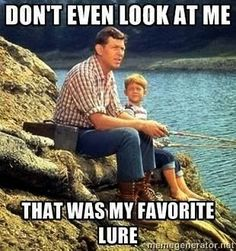 When it comes to nostalgic television shows of the that took place in the heartland, nothing beats this show. So, show a little appreciation and check out these The Andy Griffith Show facts. Fishing Life, Gone Fishing, Kayak Fishing, Fishing Stuff, Trout Fishing, Saltwater Fishing, Fishing Shirts, Funny Fishing Memes, Fishing Quotes