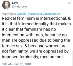 TheGynocrat's Tweets and Receipts Liberal Feminism, Politics, Just Girly Things, Things To Think About, Intersectional Feminism, Peace On Earth, Patriarchy, Oppression, Good People