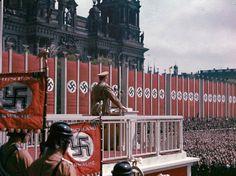 Gott Mit Uns — scooteraz:   Adolf Hitler speaking at the...
