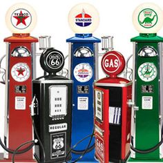 Add to the Truck Party charm with a toy gas pump (on Pedal Cars and Retro collectibles)