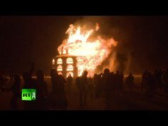 Burning Man is an annual festival that began in 1986. Tens of thousands of people gather at the 'Playa' in Nevada's Black Rock Desert to create a temporary wooden city dedicated to community, art, self-expression and self-reliance.  They depart a week later, leaving no trace whatsoever. Let it burn! Trying to explain what Burning Man is to someone who has never been to the event is a bit like trying to explain what a particular color looks like to someone who is blind.