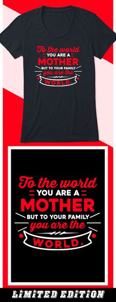 You are My World - Limited edition. Order 2 or more for friends/family & save on shipping! Makes a great gift!