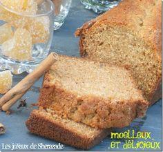 recette de pain d'épices Bread Recipes, Banana Bread, Toast, Cake, Sweet, Desserts, Pains, Food, Breads