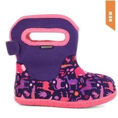 Baby Bogs Zoo - Purple & Pink at www.seagearmarine.com
