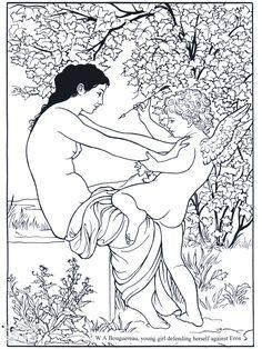 Beautiful Drawings Of Women Coloring Book