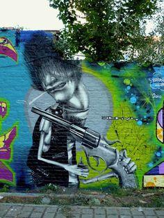 Ethos in Berlin, Germany   urban wall art, street art, urban art, wall murals, graffiti art