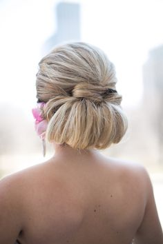 #hairstyles  Photography: Cristina G Photography - www.cristinagphoto.com  Read More: http://www.stylemepretty.com/little-black-book-blog/2014/07/10/pastel-art-deco-wedding-inspiration/