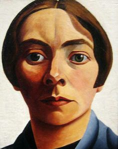 Dutch painter Charley Toorop (1891 –1955)  | Self portrait, 1928.