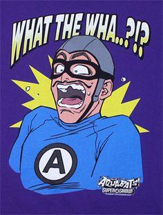 the aquabats | What The Wha?!? - Aquabats T-shirt - MyTeeSpot - Your T-shirt Store
