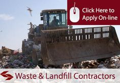 Waste and Landfill Contractors Public Liability Insurance