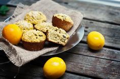 High proteins lemon coconut poppyseed muffins! A great treat to bake up and mix into your cooking rotation!