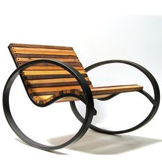 Pant Rocking Chair from aldeahome.com. use with bed on patio of pool or under shade pergola.