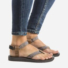 teva glitter sandals