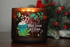 Bath & Body Works Hot Cocoa & Cream Candle Review - Candle Frenzy
