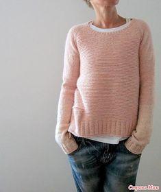 Розовый пуловер от Isabell Kraemer