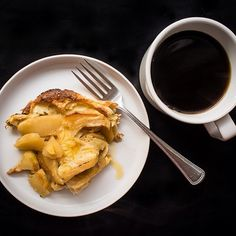 German Apple Pancakde from @la Moisson