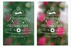 クリスマスデザイン ポスター