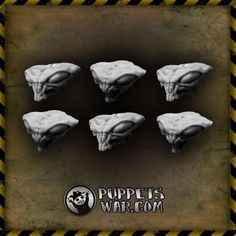 Our Mantis Heads https://puppetswar.eu/product.php?id_product=669