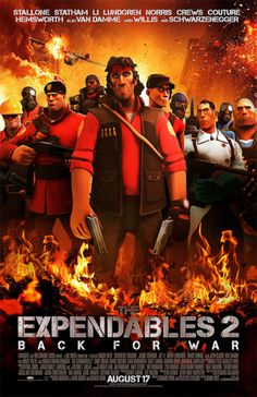 Movie Posters Recreated Using Team Fortress 2, Because Why Not