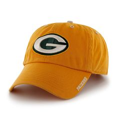 Green Bay Packers Ice Gold 47 Brand Adjustable Hat Green Bay Packers Hat 39dfce623