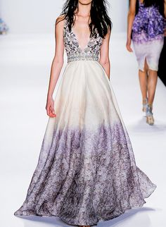 Badgley Mischka Ready to Wear S/S 2015.