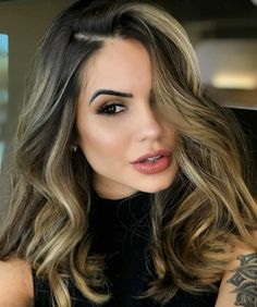 38 Best Balayage Hair Color Ideas for 2019 - Style My Hairs Hair Color Auburn, Auburn Hair, Ombre Hair Color, Hair Color Balayage, Brown Hair Colors, Purple Hair, Bayalage, Balayage Highlights, Brown Blonde Hair
