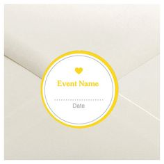 Modern Color Block Envelope Seal Stickers  1.5 by DfinitiveDesign, $4.00