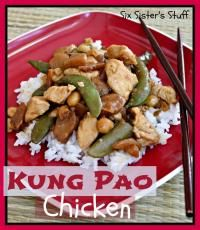 Six Sisters Kung Pao Chicken Recipe would be great for dinner tonight. #sixsistersstuff