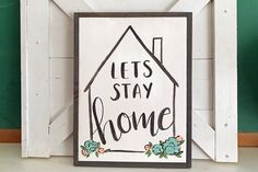 Let's Stay Home With Flowers