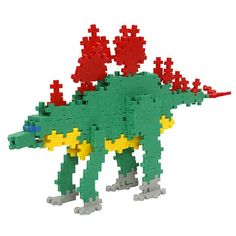 Plus-Plus Mini 480 Dino | edukacnehracky.sk Plus Plus Modele, Plus Plus Construction, Toy Story Tattoo, Toy Packaging, Museum Shop, Toy Rooms, Toy Organization, Simple Shapes, Building Toys