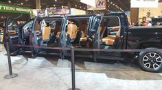Toyota Tundra Concept Limo - Darrick Kouns, SEMA Show 2015