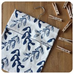 Image of Peg Bag | Sycamore: Ink
