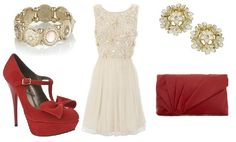 This would be a nice Christmas outfit :)