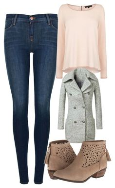 """Elena Gilbert Inspired Outfit"" by mytvdstyle ❤ liked on Polyvore featuring J Brand, Coast, Minnetonka, women's clothing, women's fashion, women, female, woman, misses and juniors"