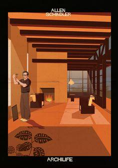 federico babina archilife adds cinematic stars to architect-designed interiors