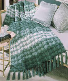 Free Spring Crochet Afghan Pattern