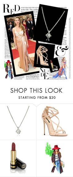 """""""Red carpet dress set"""" by snehal-lal ❤ liked on Polyvore featuring GALA, Forzieri, Dolce&Gabbana, Gucci, WALL and Victoria's Secret"""