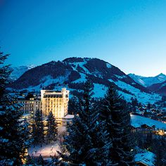 Summer or winter, Gstaad and its storied palace beckon to well-heeled visitors.