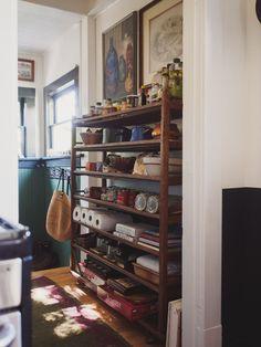 antique bread rack pantry shelf antique english country armoire circa 1830s