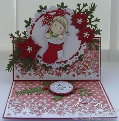 Tucked Tilda, Sweet Christmas dreams collection, Magnolia stamps