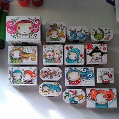 Discover thousands of images about Caja Reinita Tole Painting, Fabric Painting, Painting On Wood, Diy Gift Box, Diy Gifts, Painted Wooden Boxes, Diy And Crafts, Arts And Crafts, Posca Art