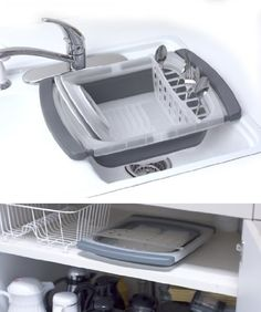 cute dish rack.. (as if i like do the dishes, LOL)