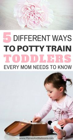 Toddler potty training tips for real moms. Potty training tips from when to start potty training to different methods and approaches. Learn how to potty train a toddler, be it in 3 or 30 days. Choose what suits your lifestyle best! Parenting Toddlers, Parenting Hacks, Parenting Goals, Best Potty, Toddler Potty Training, Potty Training Rewards, Toilet Training, Training Tips, Toddler Activities