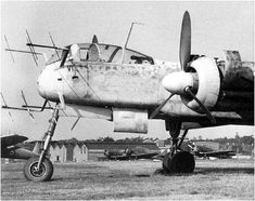 Heinkel He 219 nose by kitchener.lord, via Flickr