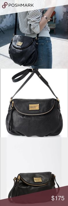 Marc Jacobs Classic Q Natasha Handbag This is an amazing purse for all women! Matches with every outfit and has hidden pockets. Marc by Marc Jacobs Bags Crossbody Bags